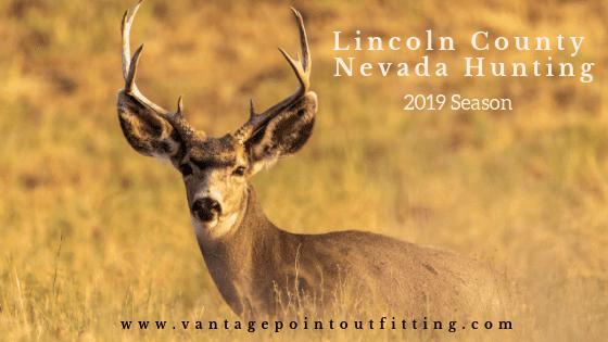 lincoln county nevada hunting